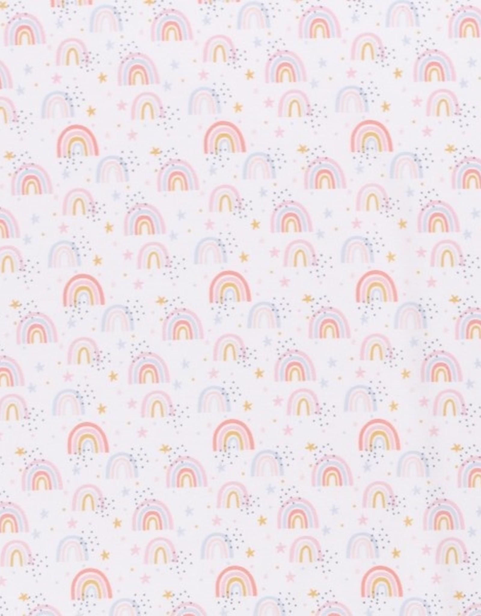 Katoen - Rainbow White