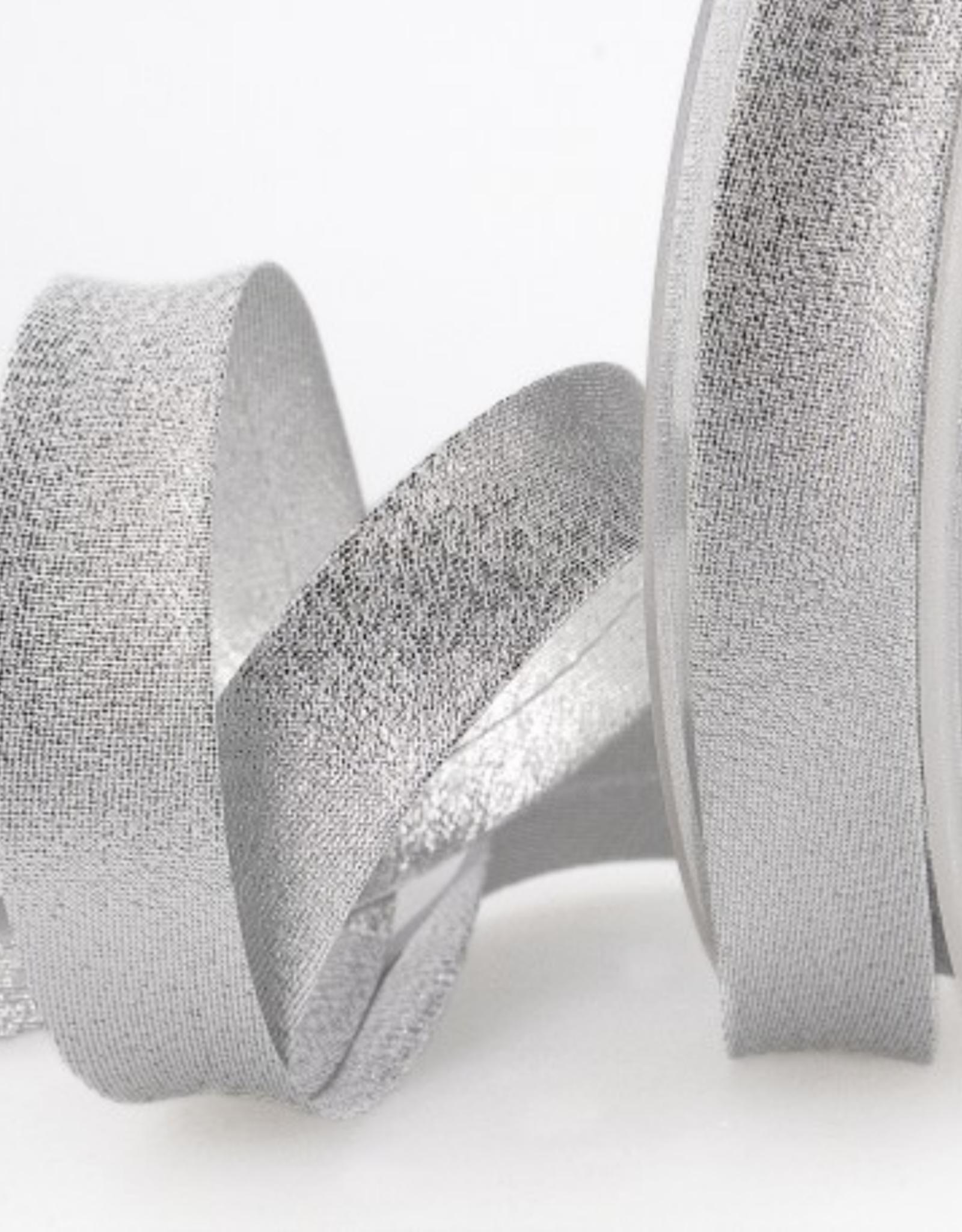 Biais 20mm - Glitter Zilver