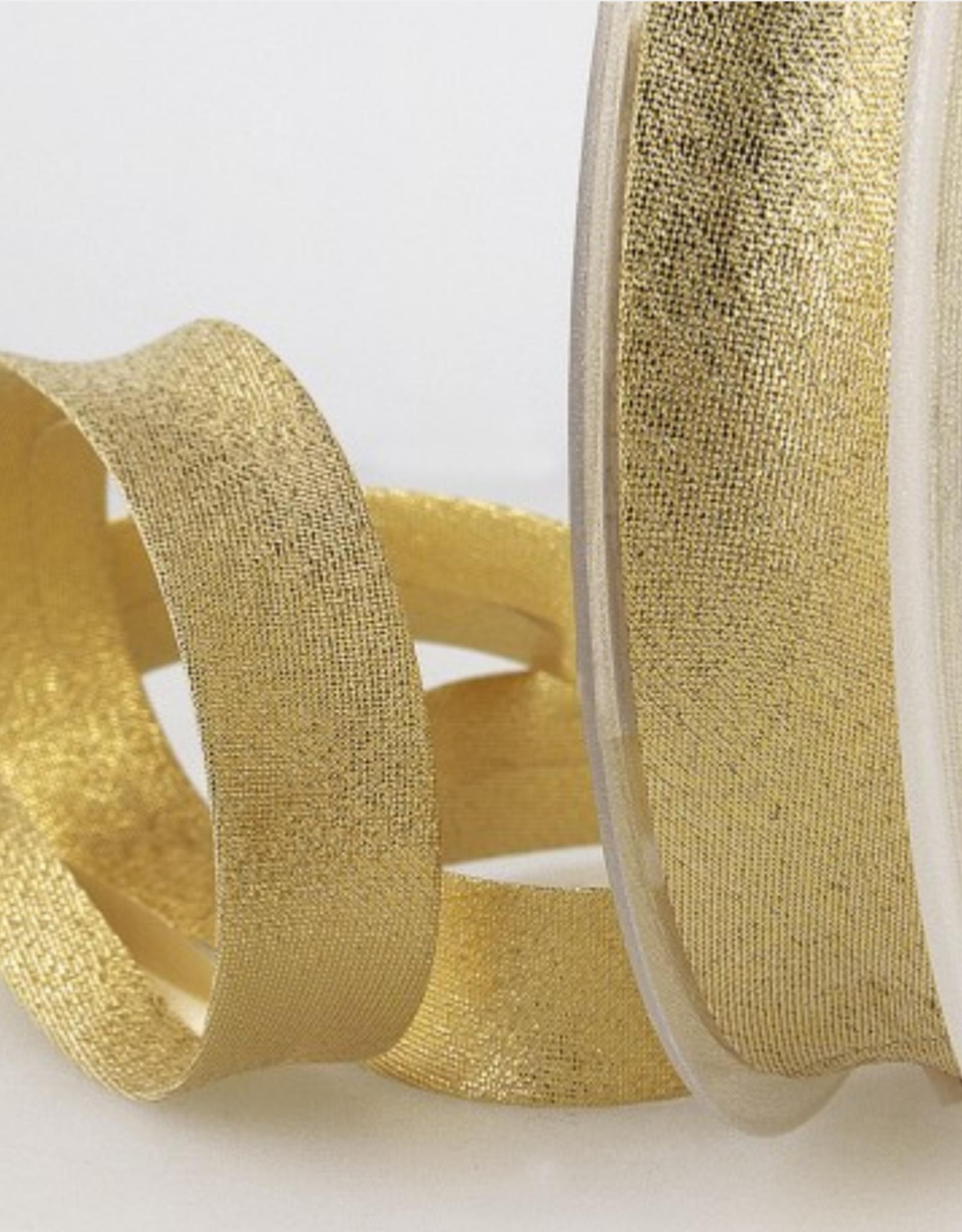 Biais 20mm - Glitter Goud