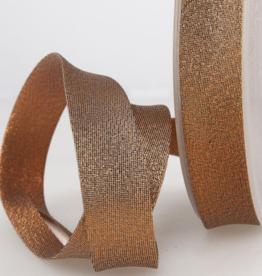 Biais 20mm - Glitter Brons