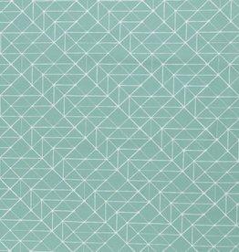 Katoen - Geo Lines Mint