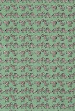 Katoen - Zebra Oudgroen