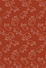 Katoen - Dieren Terracotta