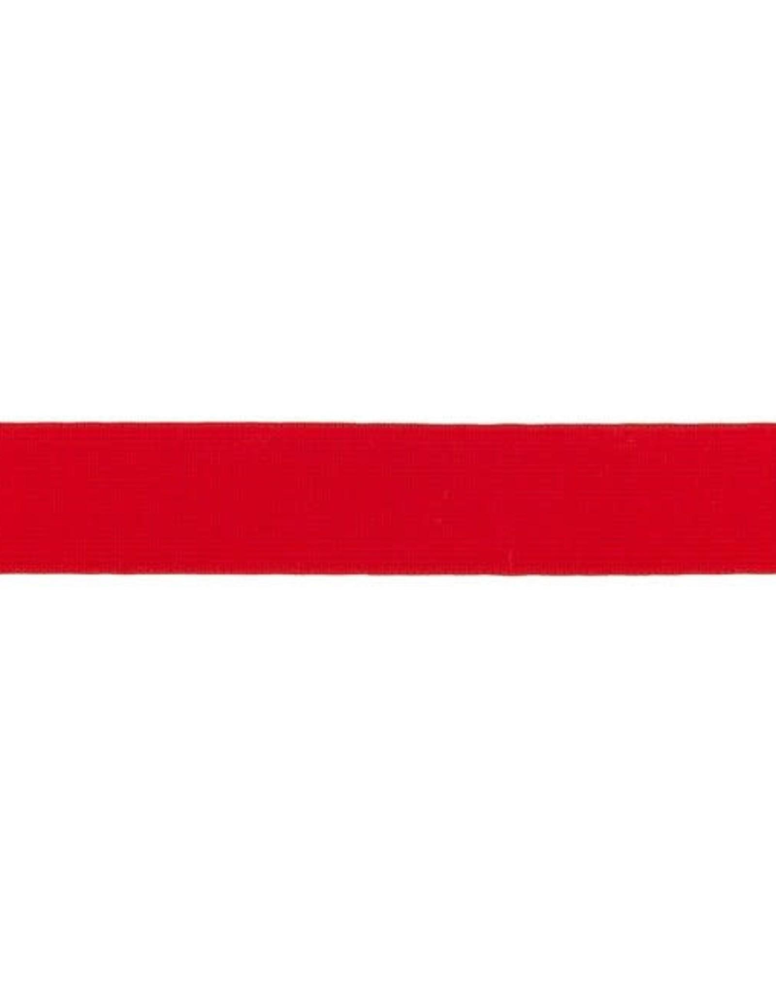 Soft elastiek 25mm - Rood