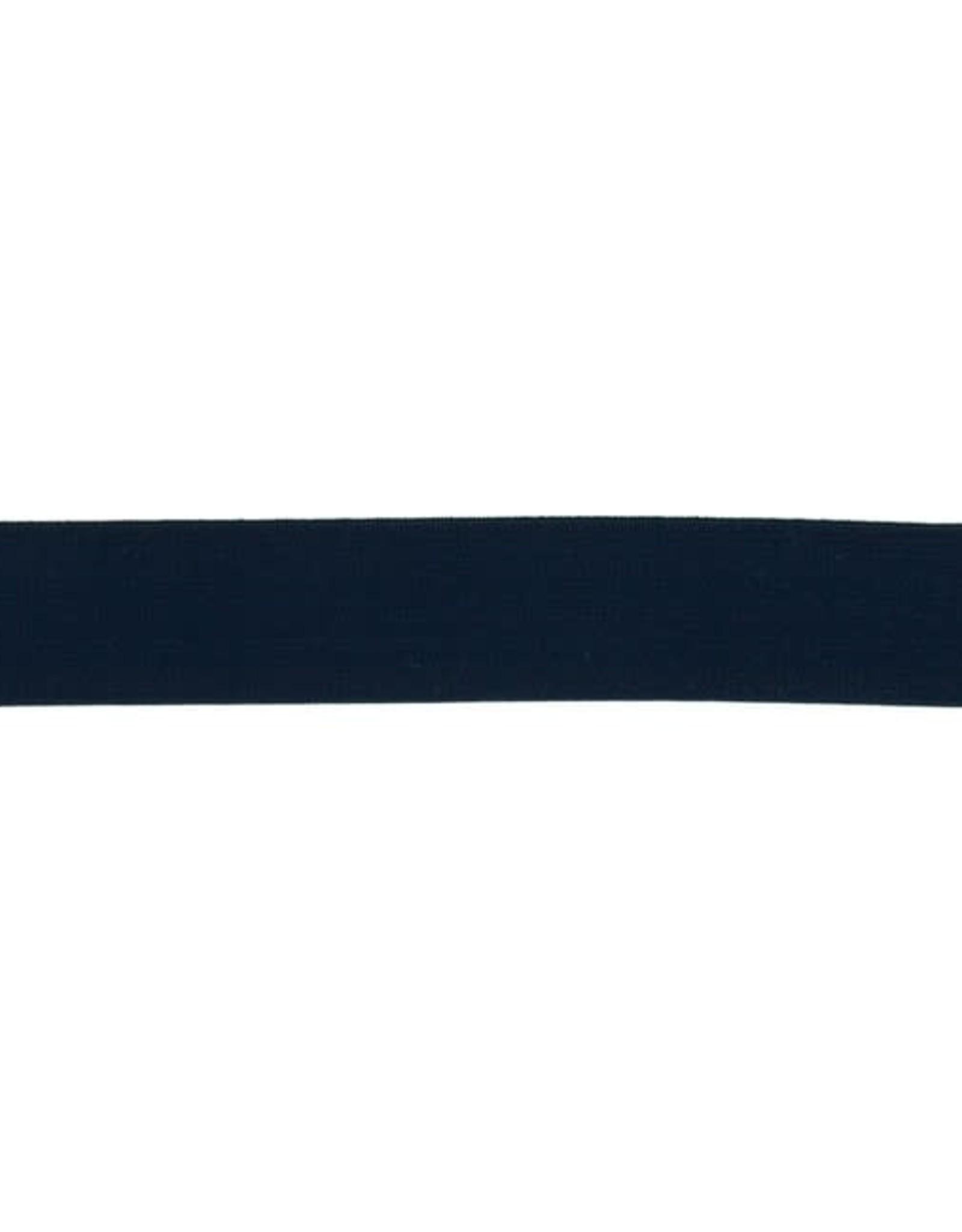 Soft elastiek 25mm - Donker Blauw