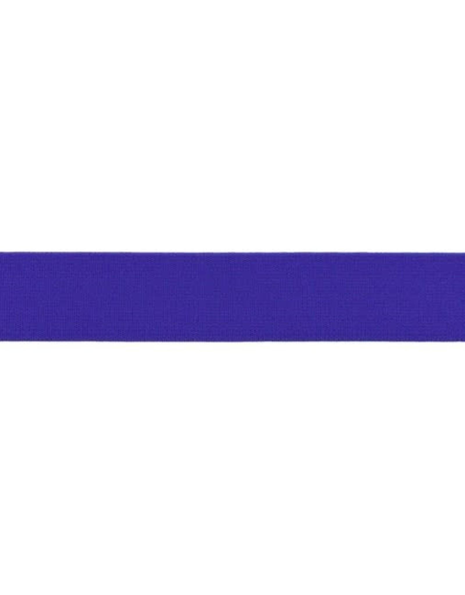 Soft elastiek 25mm - Kobaltblauw