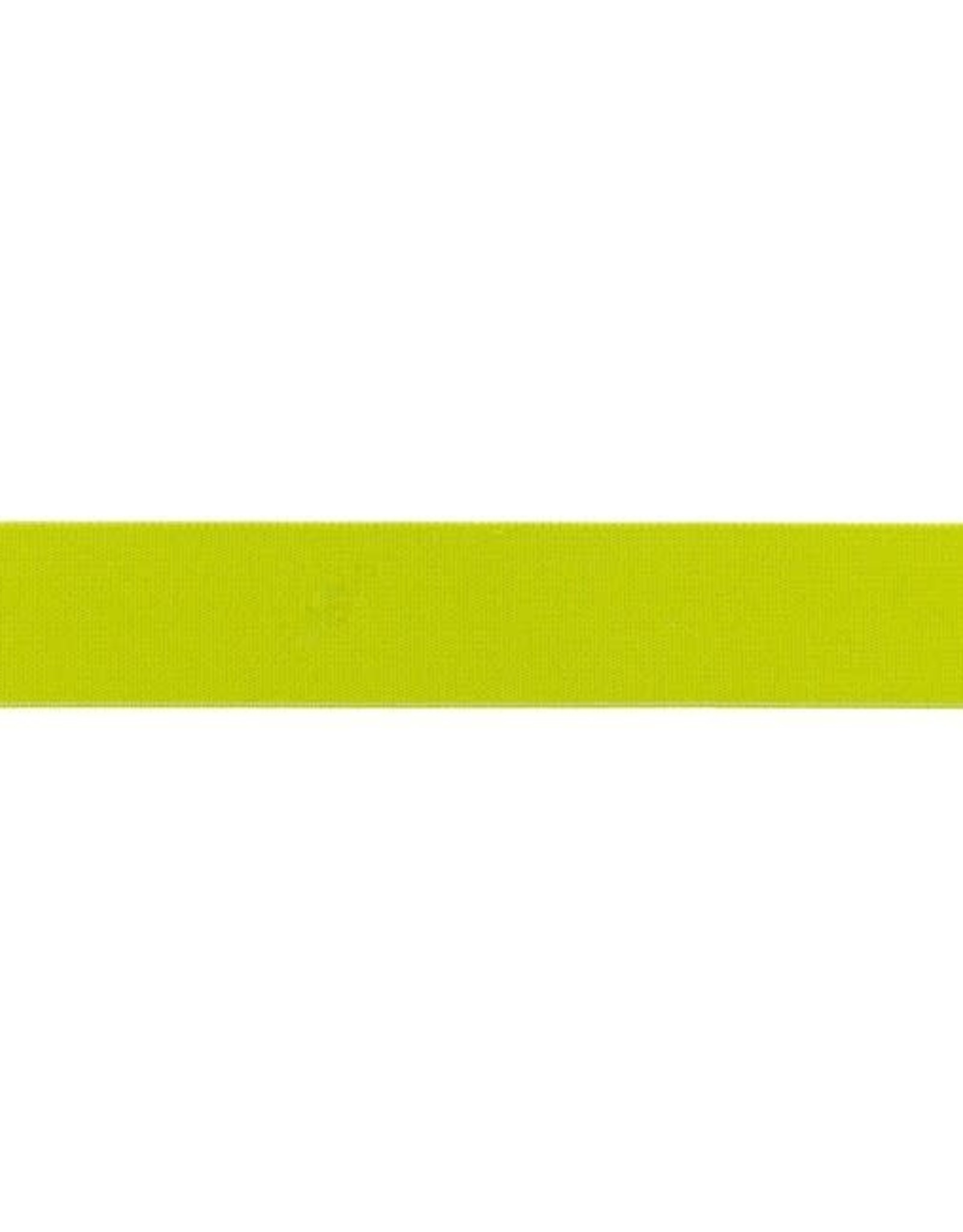 Soft elastiek 25mm - Lime Groen