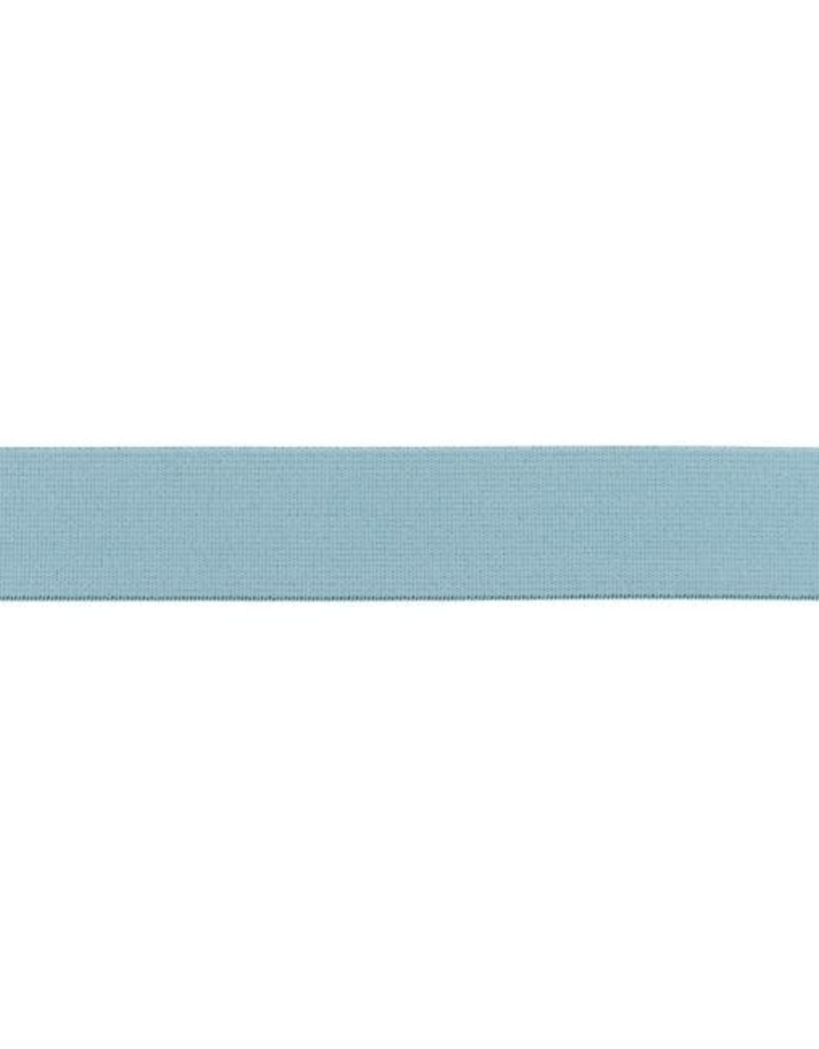 Soft elastiek 25mm - Zachtblauw