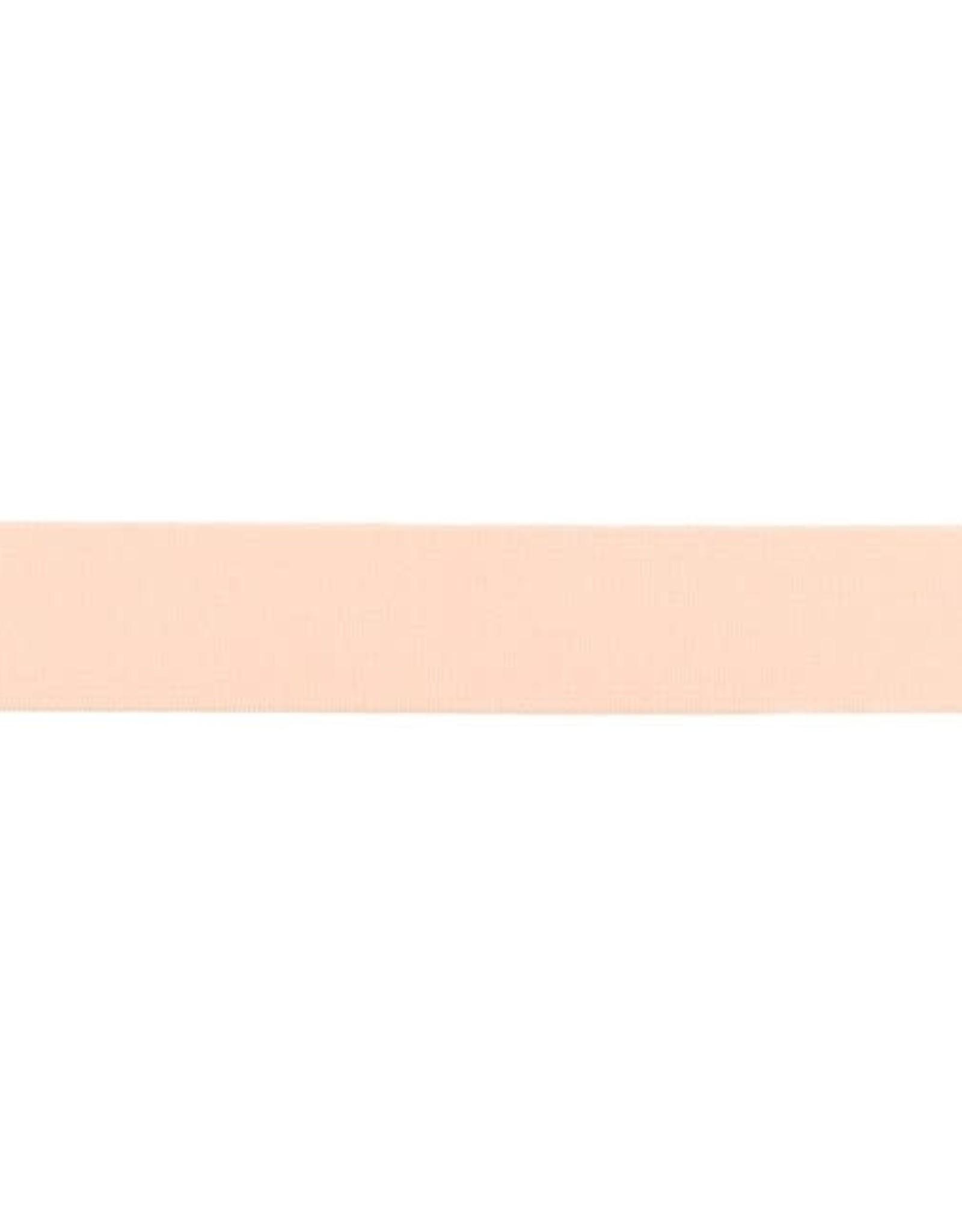 Soft elastiek 25mm - Zalmrose