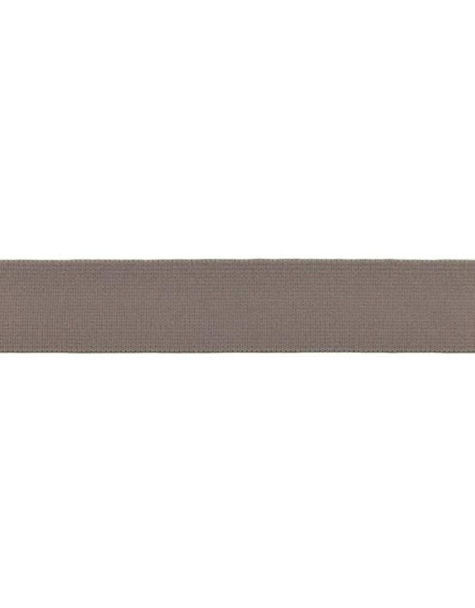 Soft elastiek 25mm - Taupe