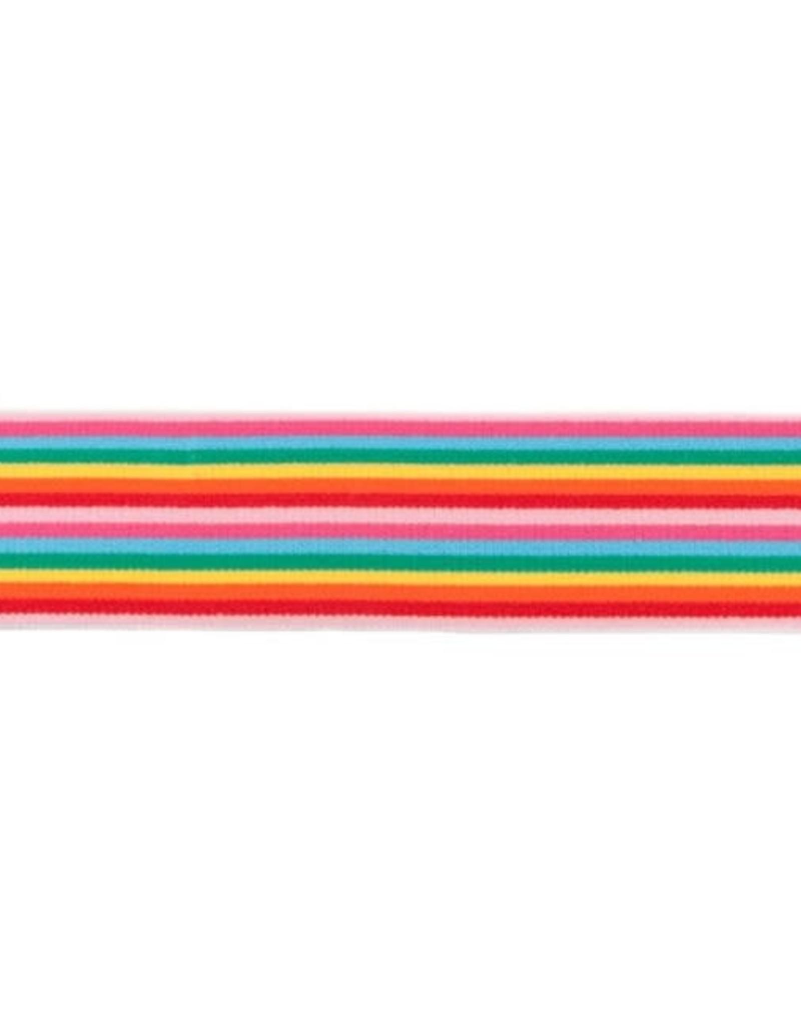 Zachte regenboog-elastiek 40mm