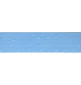 Schuin geweven elastiek 40mm - Blauw