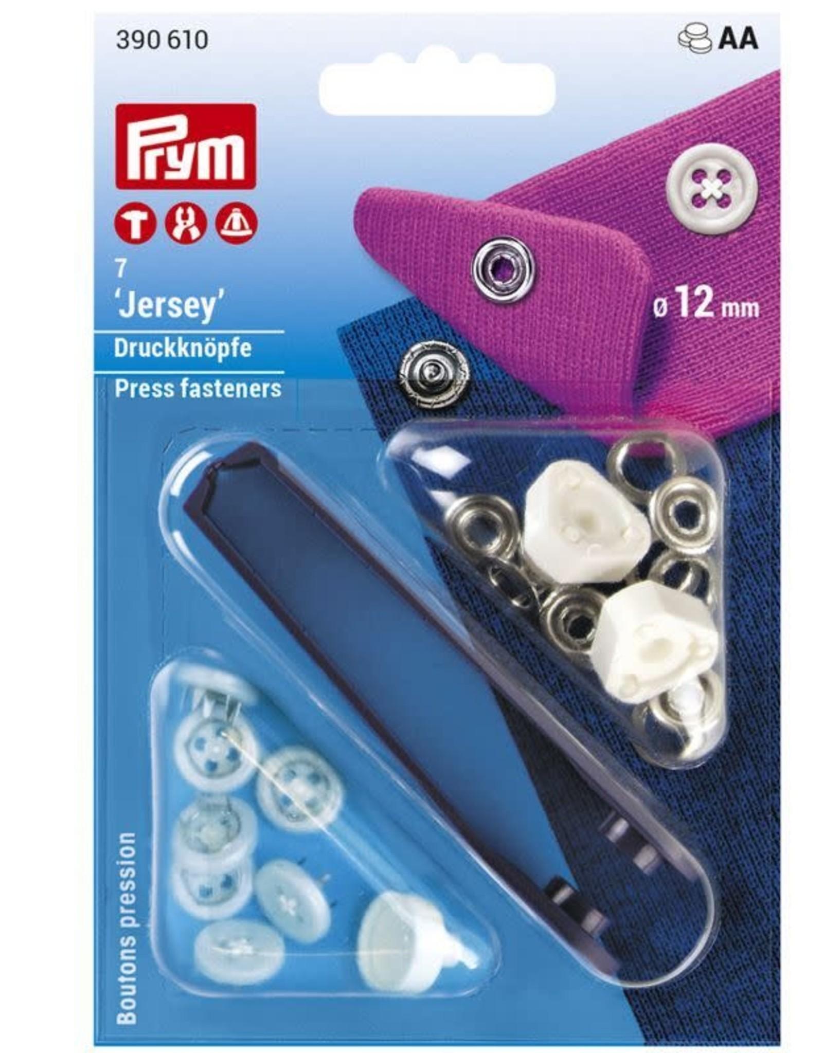 Prym Prym 390.610  - Jersey drukknopen - 12mm - Buttonlook