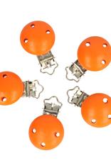 Houten Speenklem - Oranje