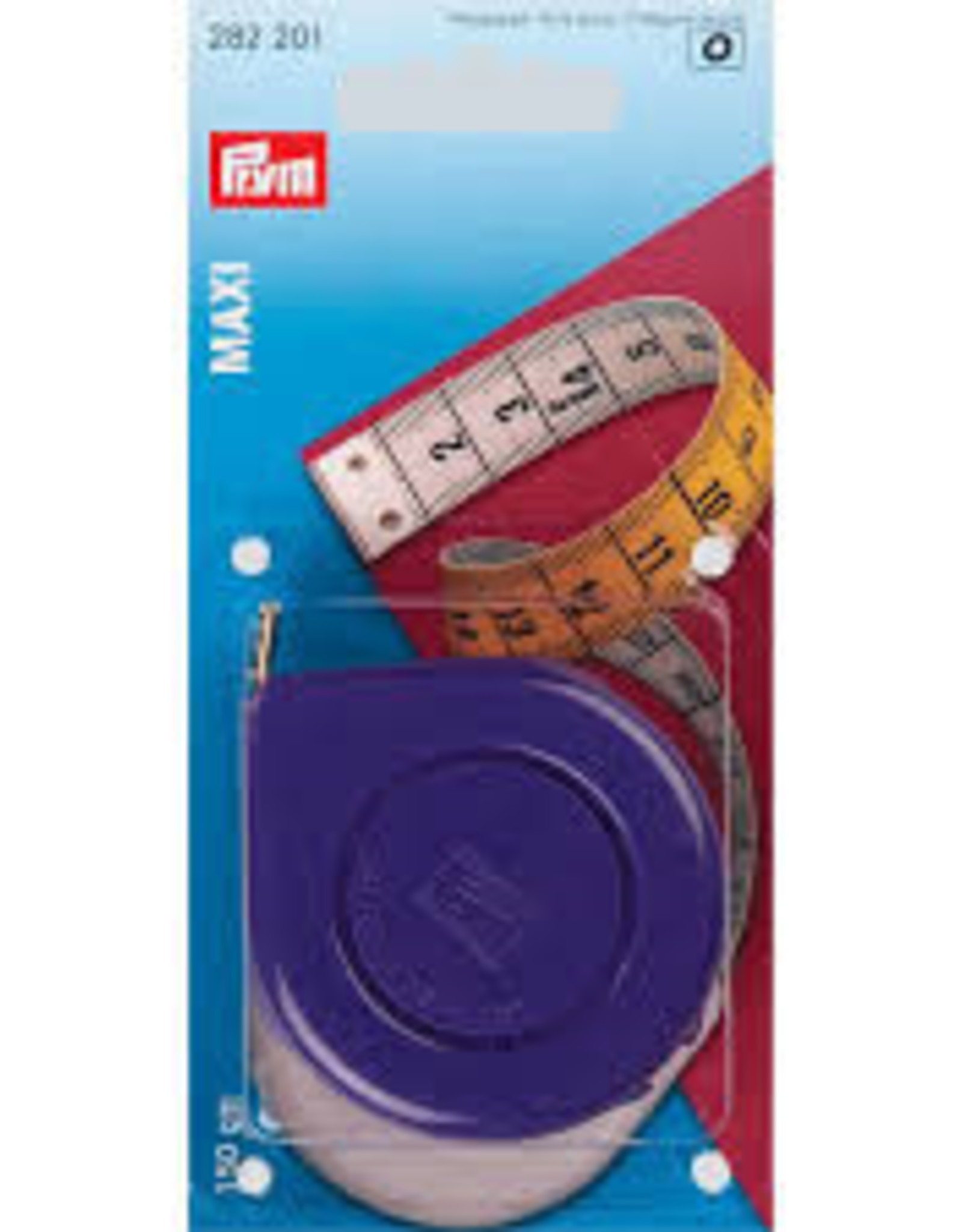 Prym Prym 282.209 - Rolcentimeter MINI wit of paars