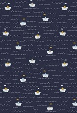 Katoen - Boats Navy