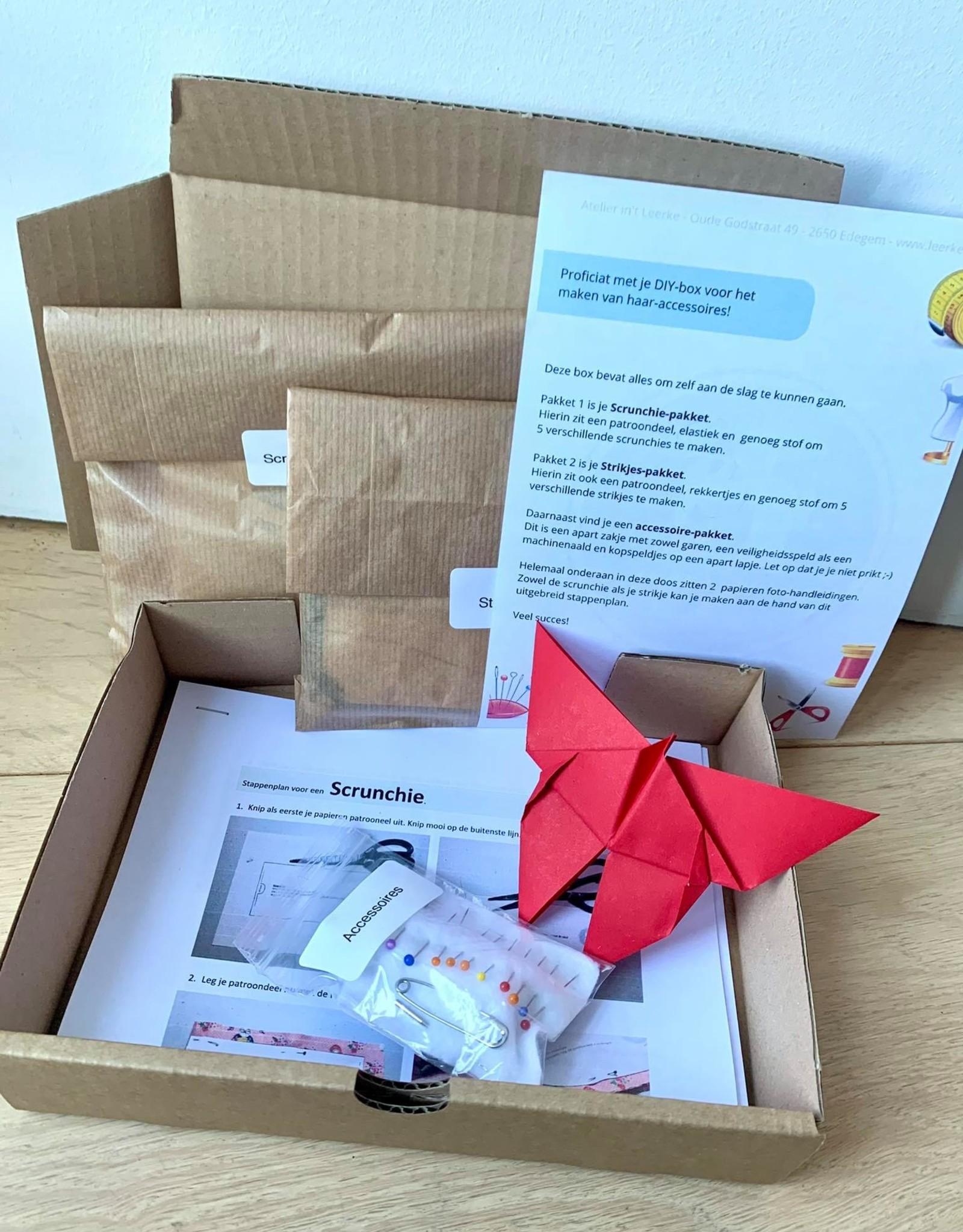 DIY-box voor kids - Haaraccessoires