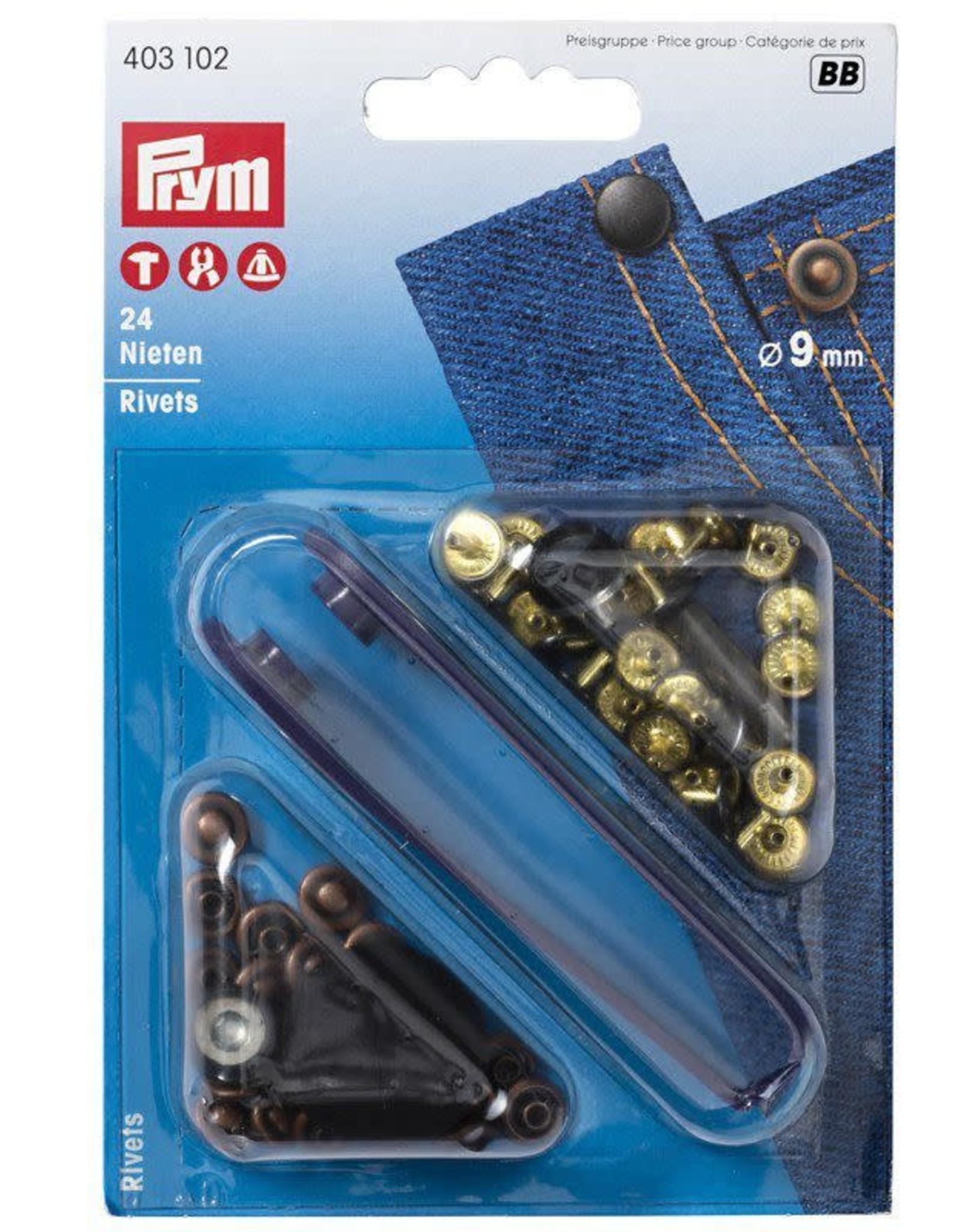 Prym Prym 403.102 - Siernieten 9mm - Brons