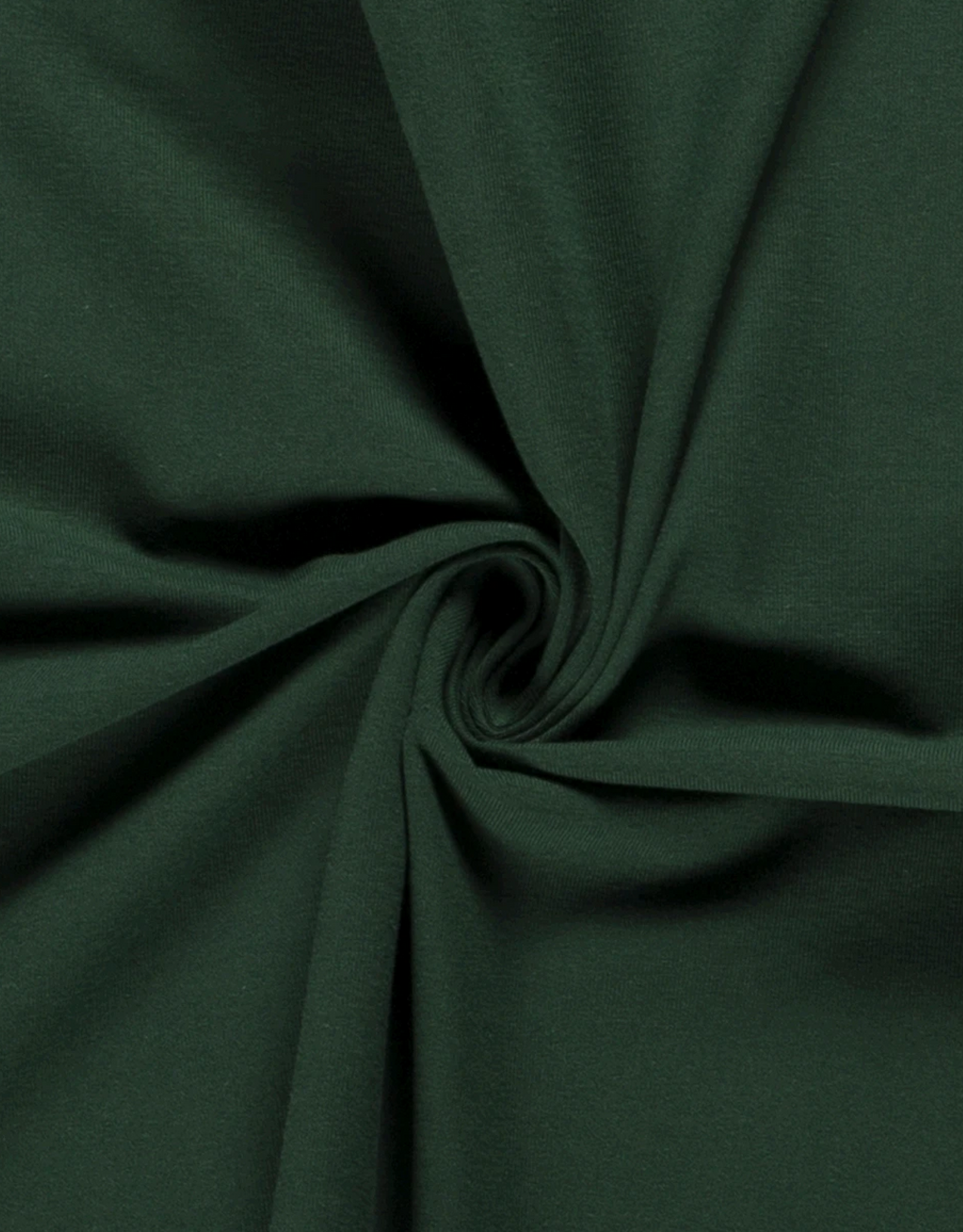 Katoentricot - Emerald