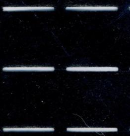 Plak-en-vouw-om 25mm - Zwart