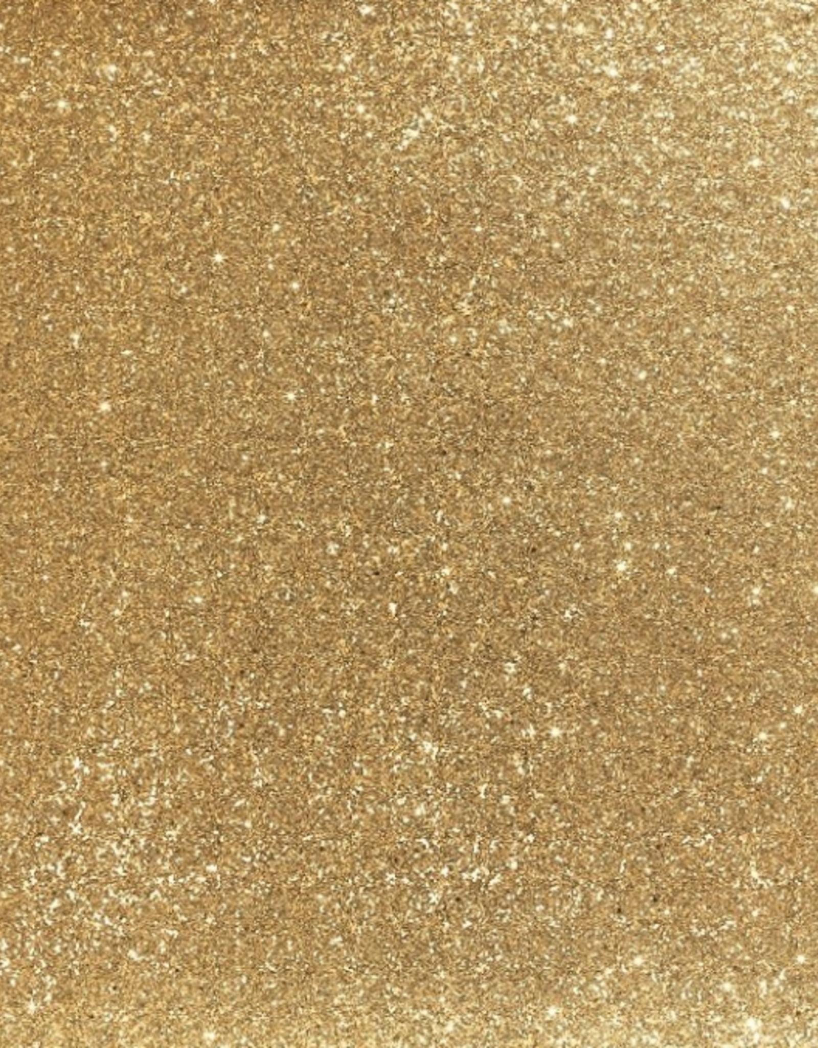 Vouwtres 20mm - Glitter Goud