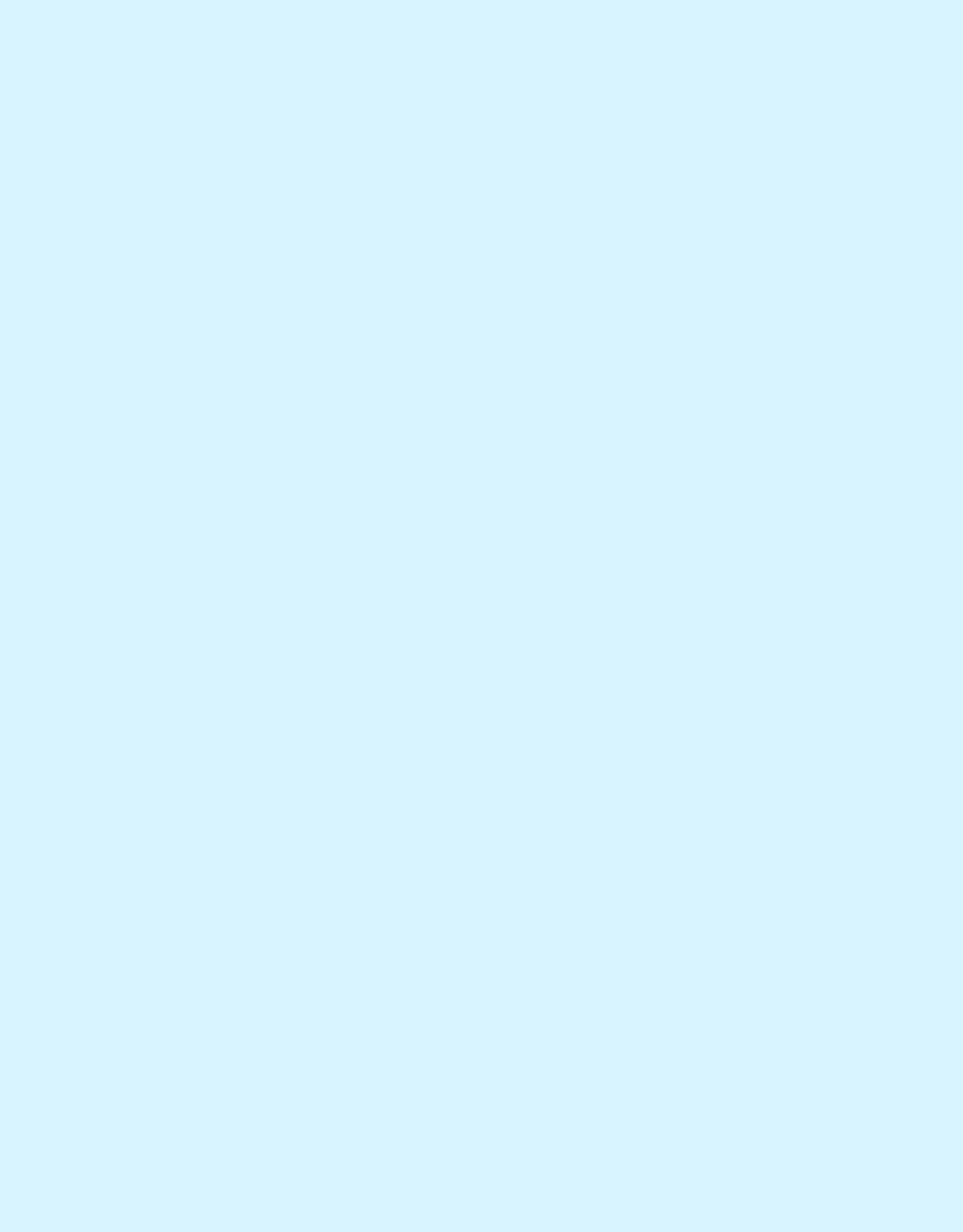 Paspel - Babyblauw