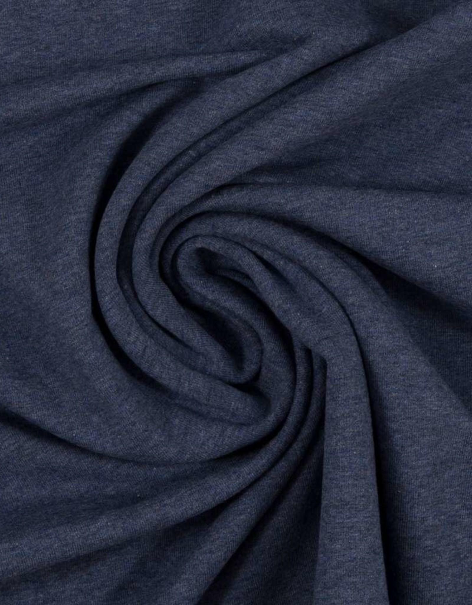 Sweat Melange - Donker Jeans