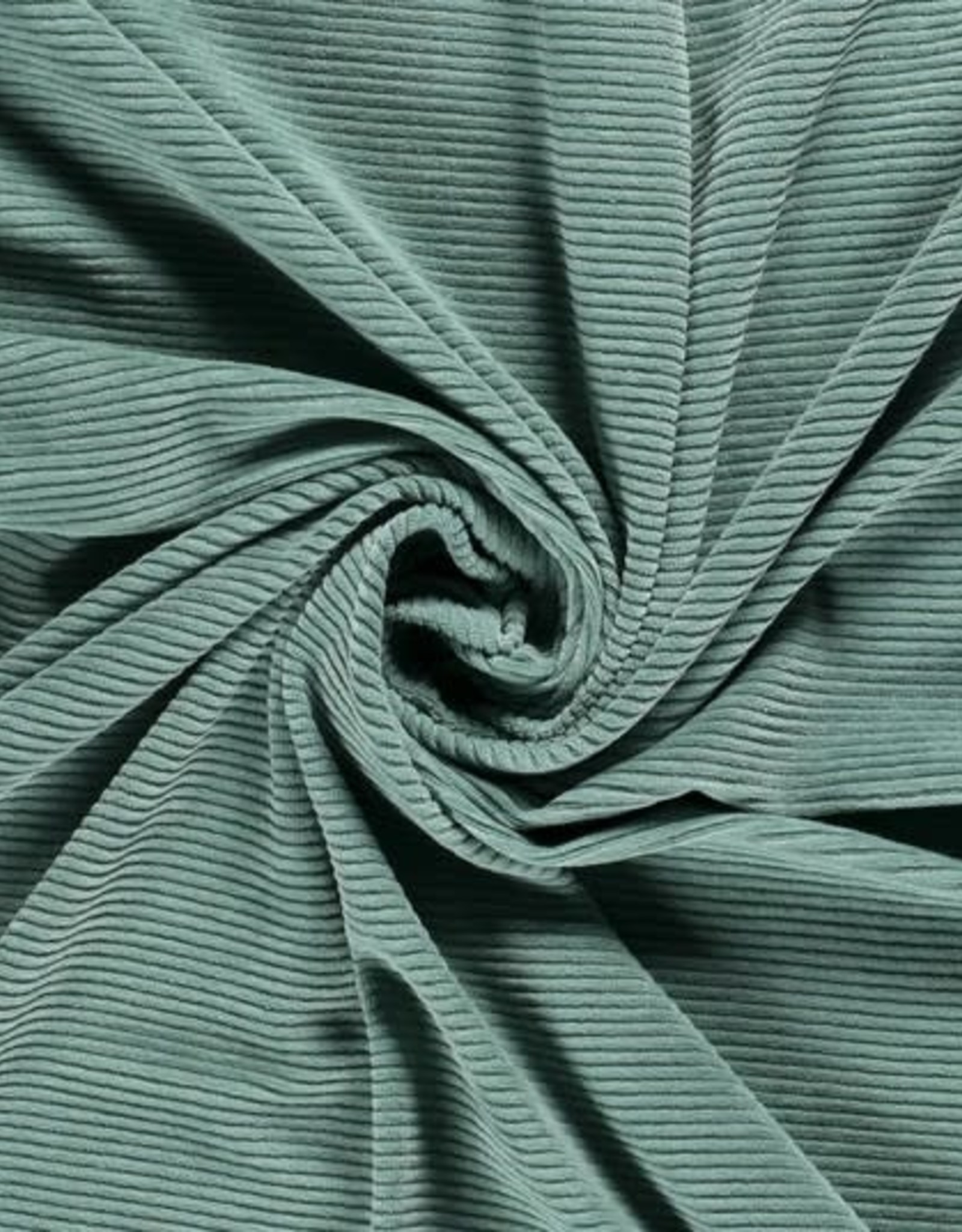 Big Knit Rib - Oudgroen