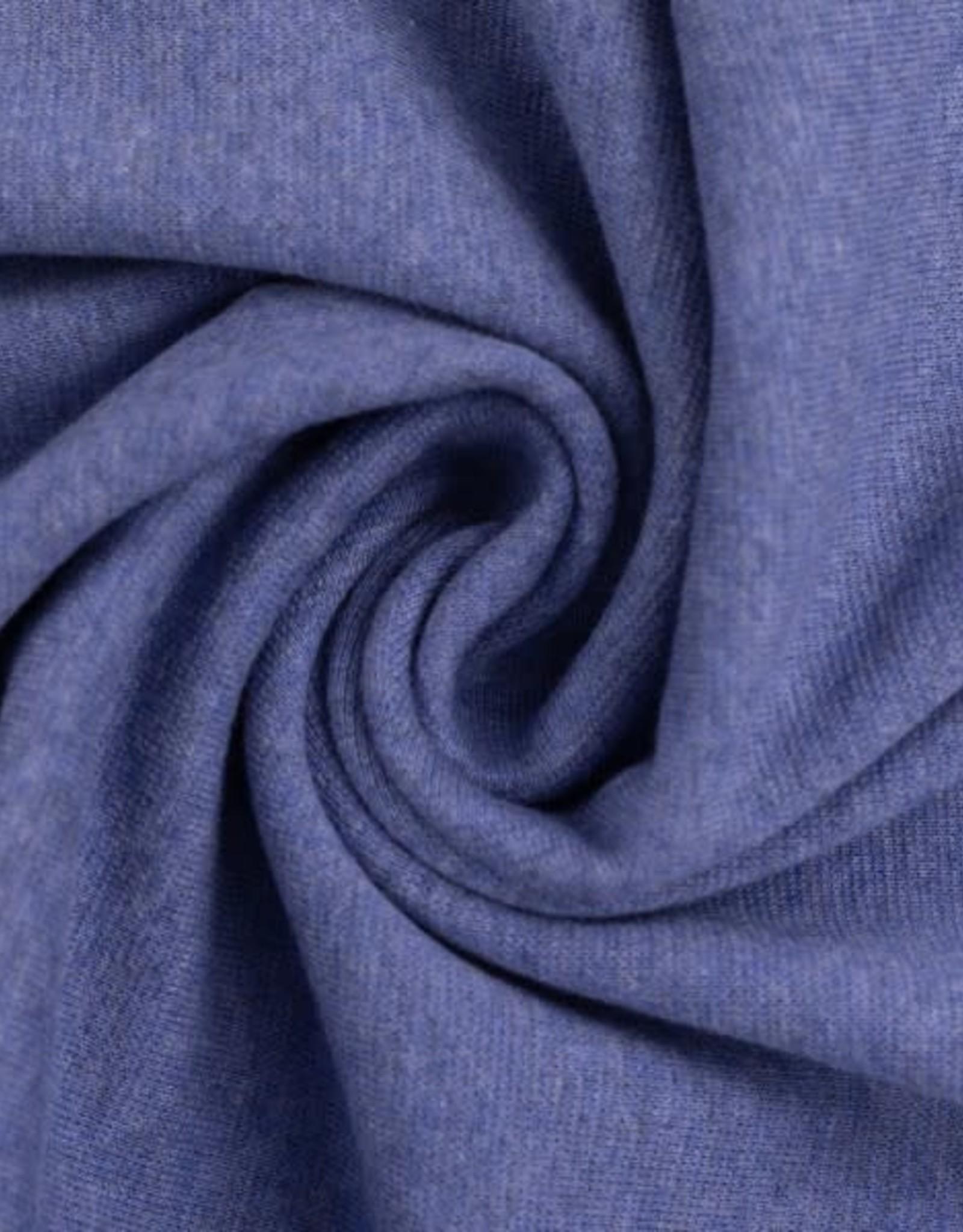 Boordstof - Licht Jeansblauw Gemeleerd