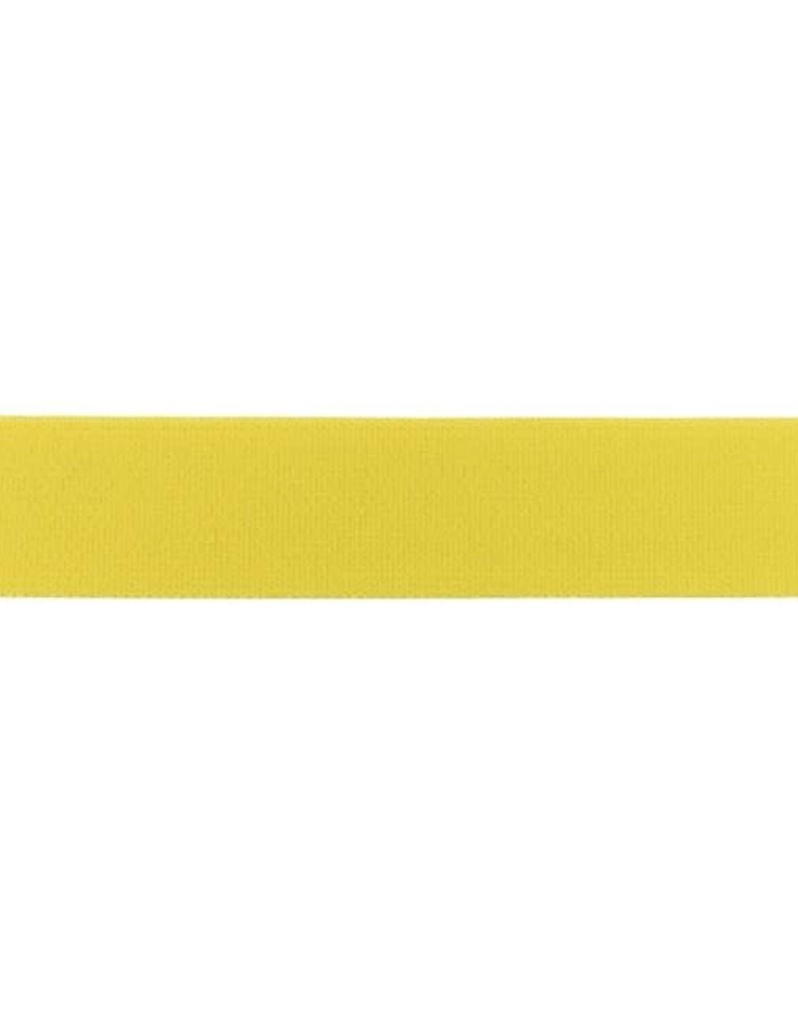 Soft elastiek 25mm - Oker