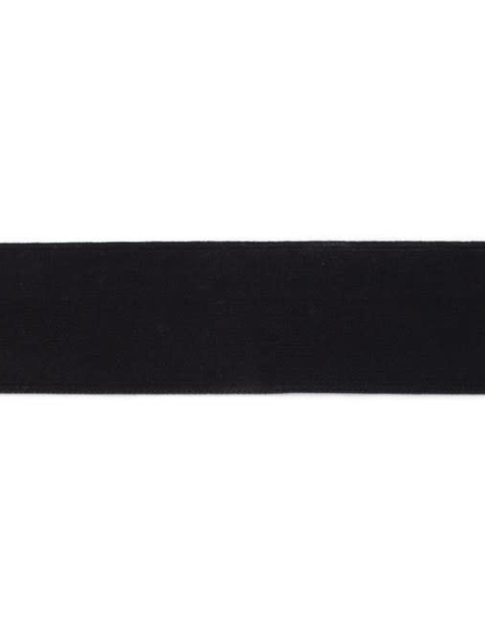 Soft elastiek 40mm - Zwart