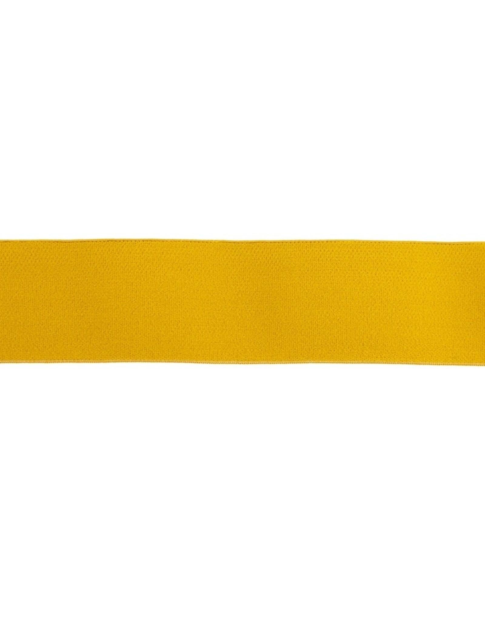 Soft elastiek 40mm - Oker