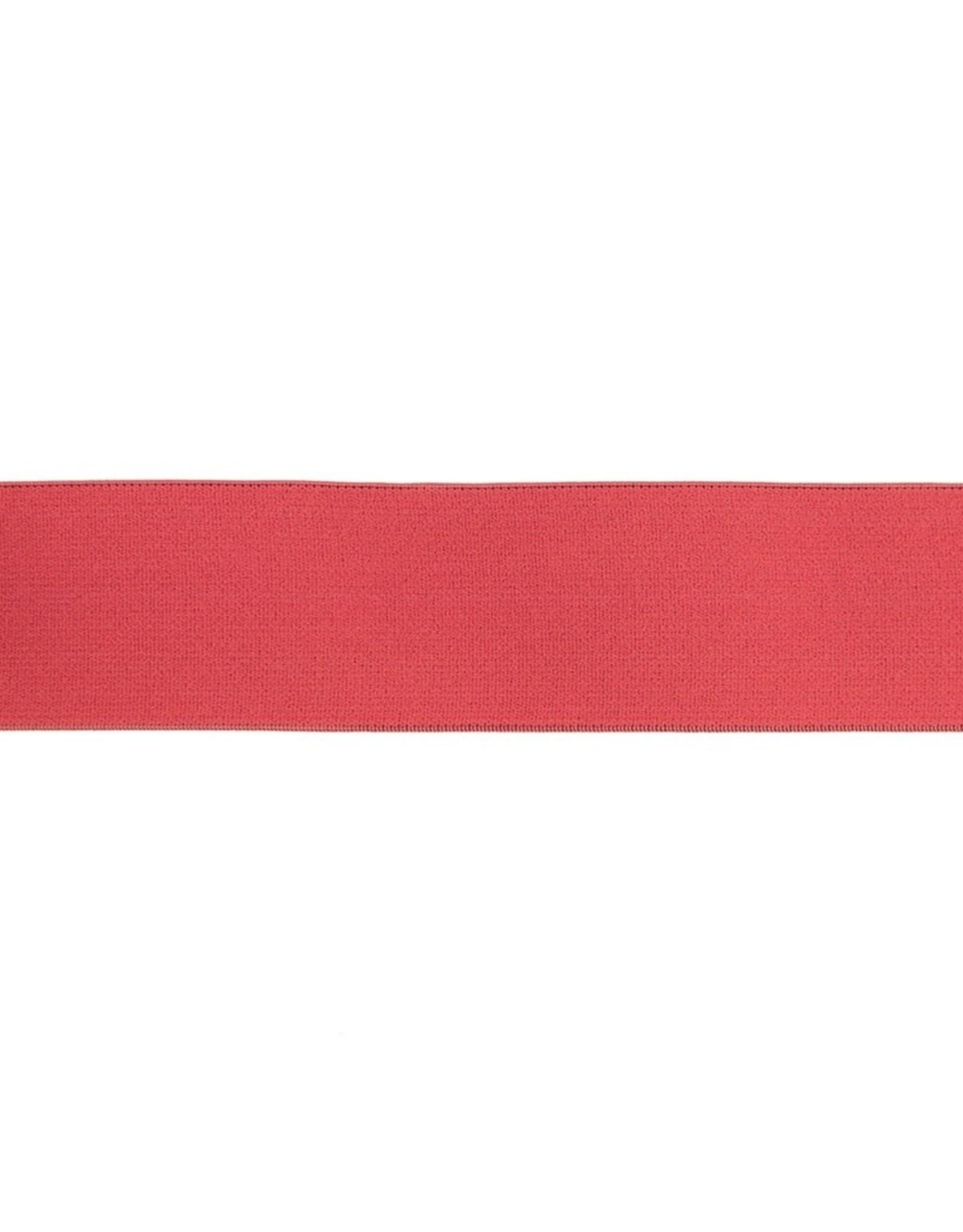 Soft elastiek 40mm - Marsala