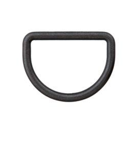 D-ring 15mm - Zwart