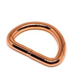 D-ring - 25mm - Rosegold