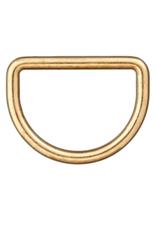 D-ring 15mm - Goud