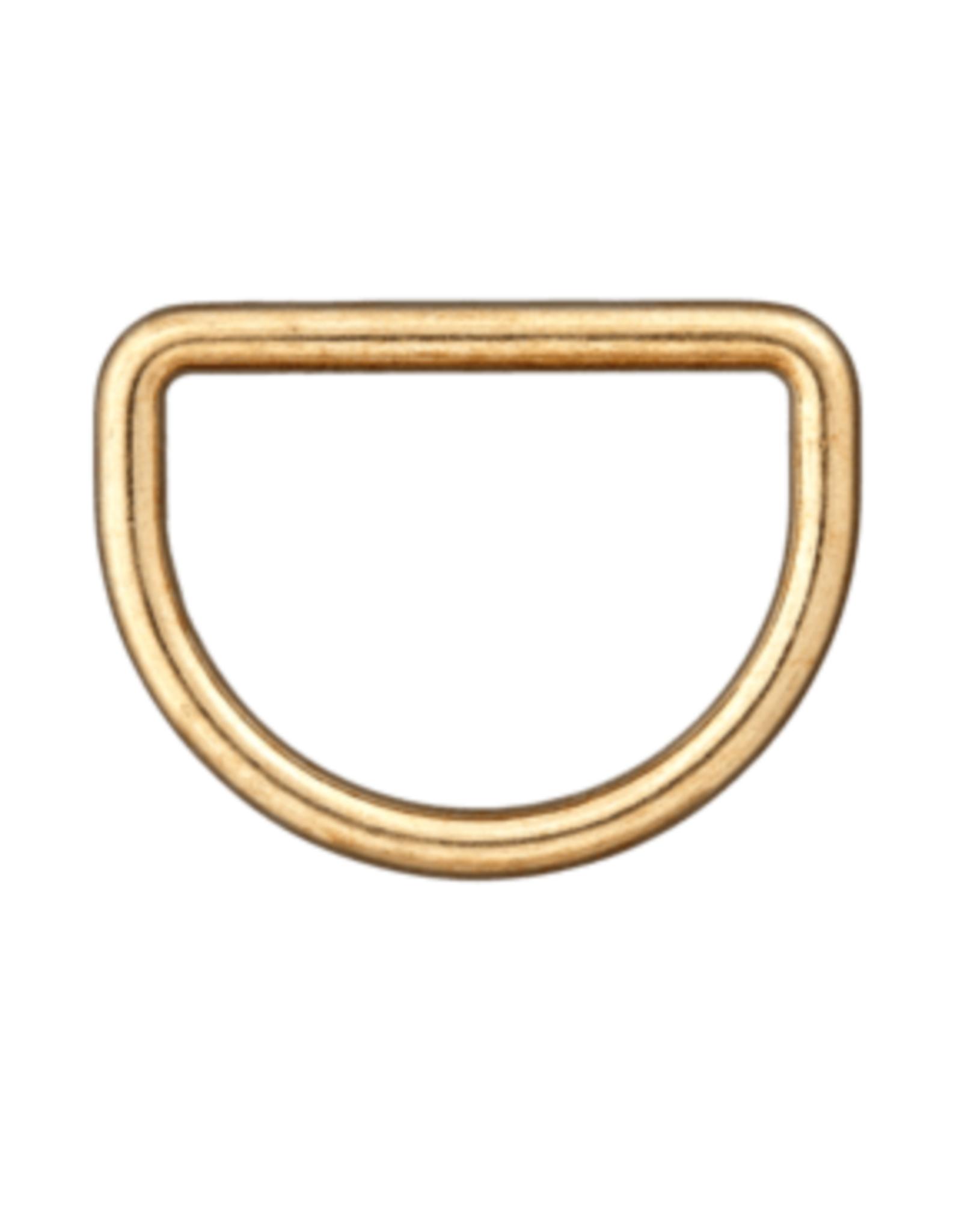 D-ring 30mm - Goud