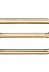 Schuifgesp 20mm - Goud