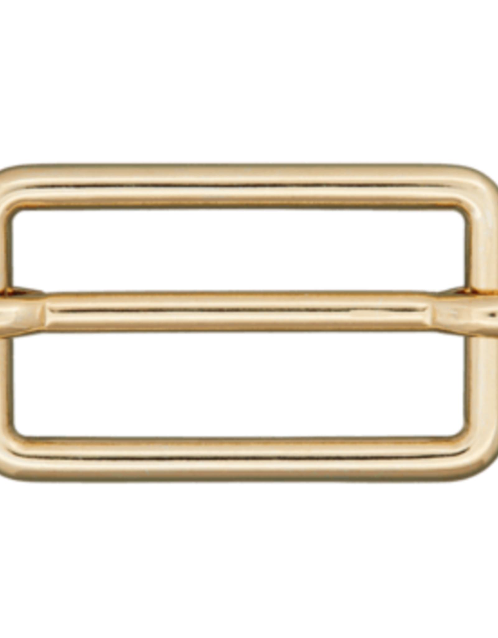 Schuifgesp 25mm - Goud