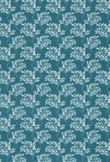 Katoen - Twig Turquoise