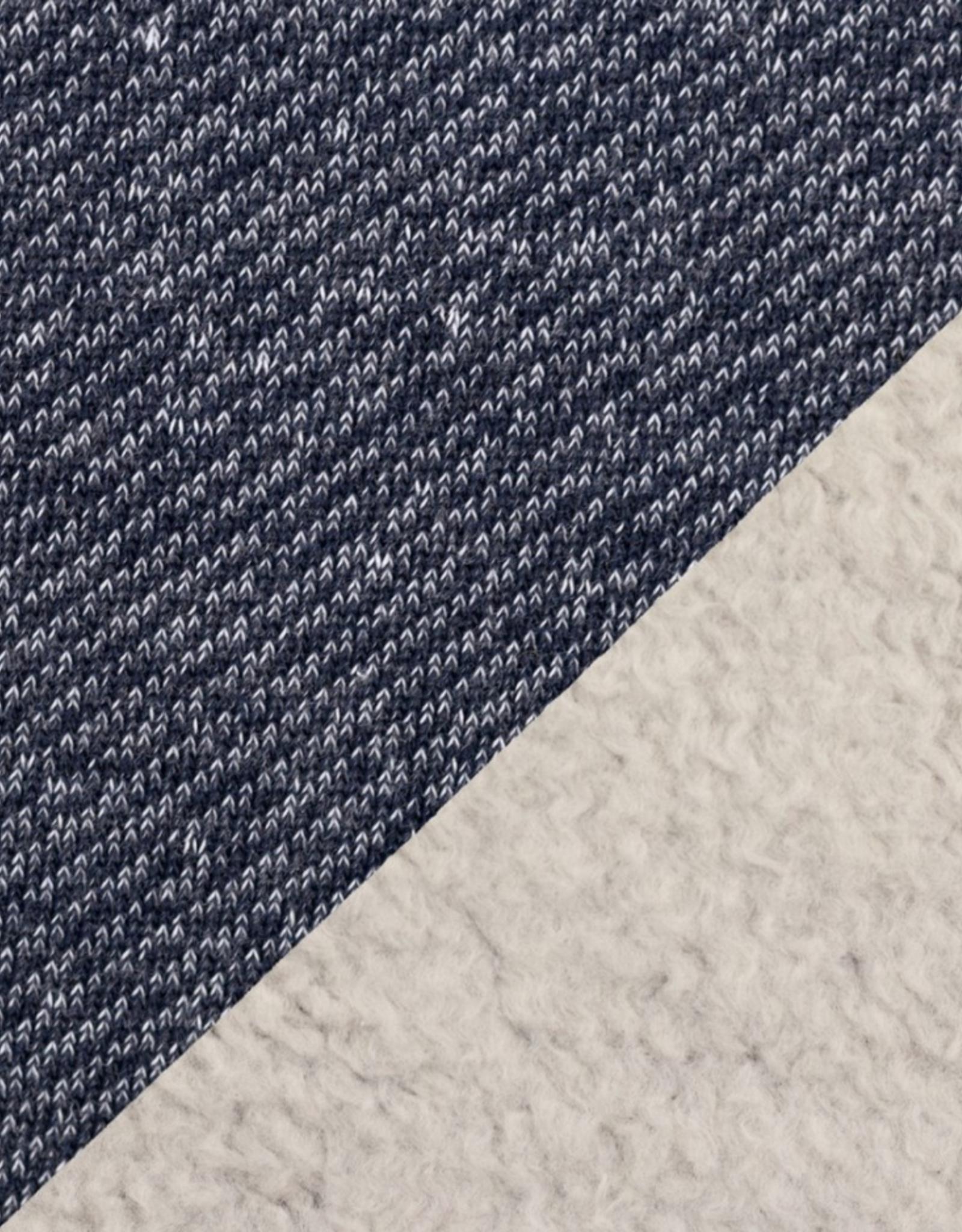Sweat - Angeraut Doubleface Dark Blue