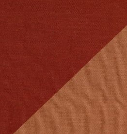 Viscose Tricot Double Face - Terracotta