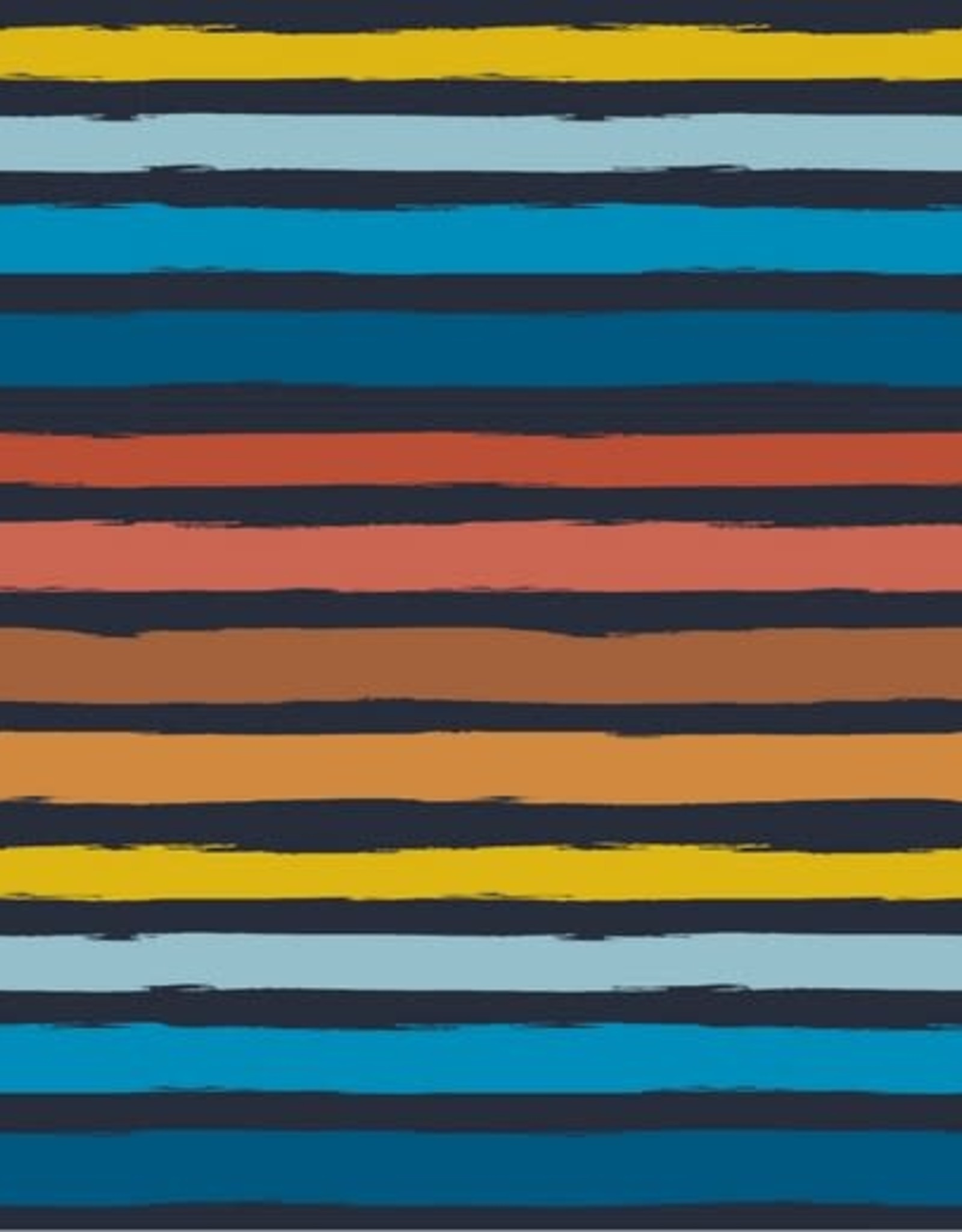 French Terry - Stripes Dark