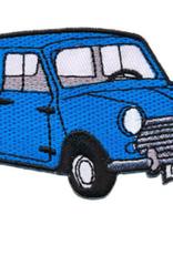 Strijkapplicatie Mini Jeansblauw