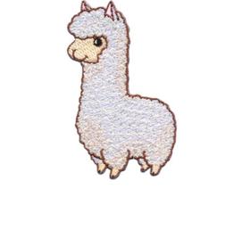 Strijkapplicatie Lama Drama