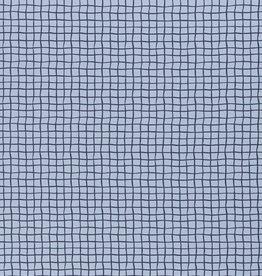Tricot - Checks Grijsblauw