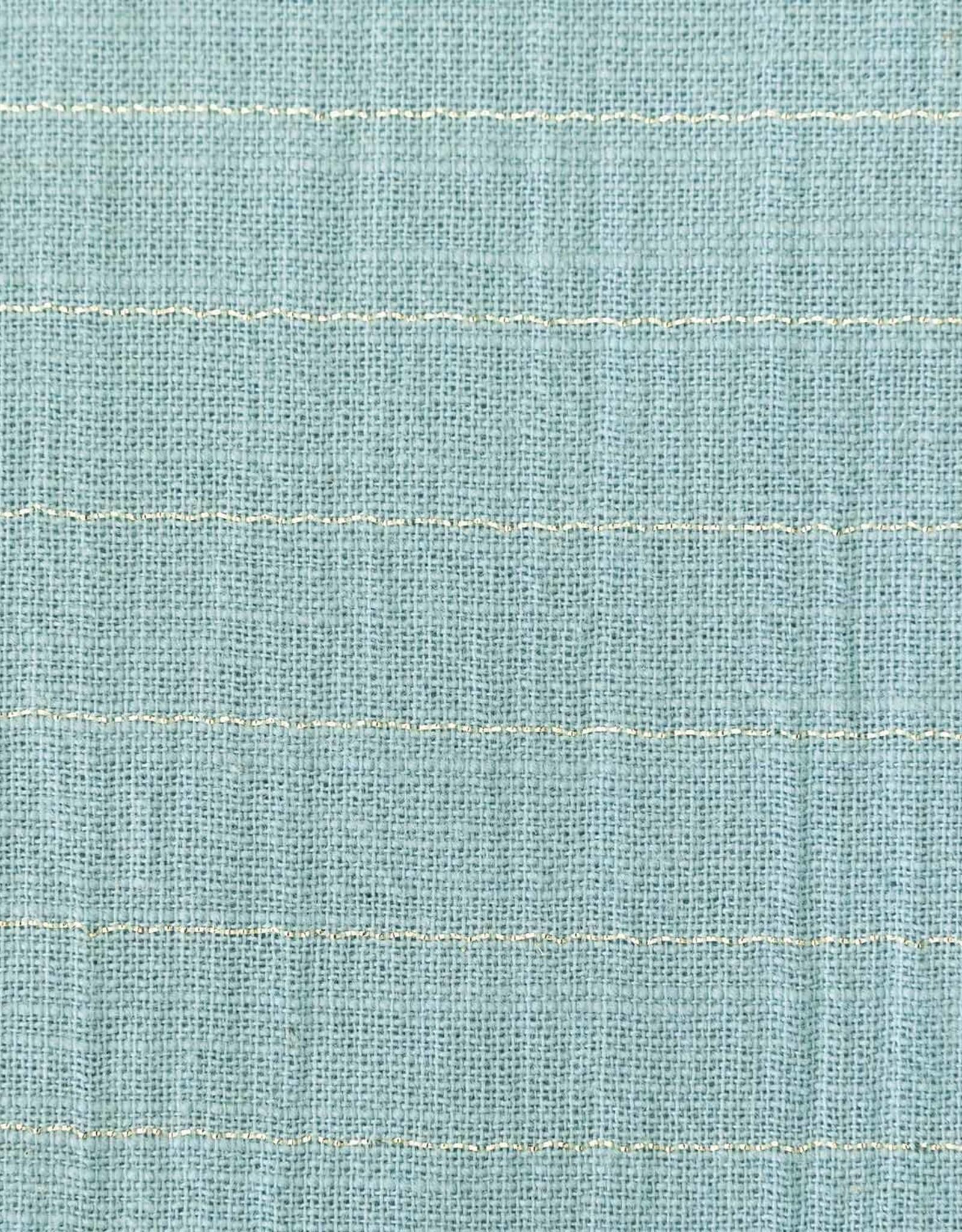 Katia Fabrics Sari Katoen - Aqua Gold