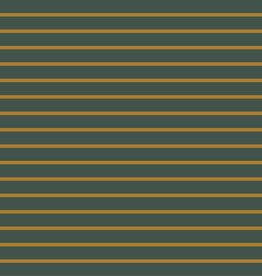 French Terry Striped - Green/Ochre
