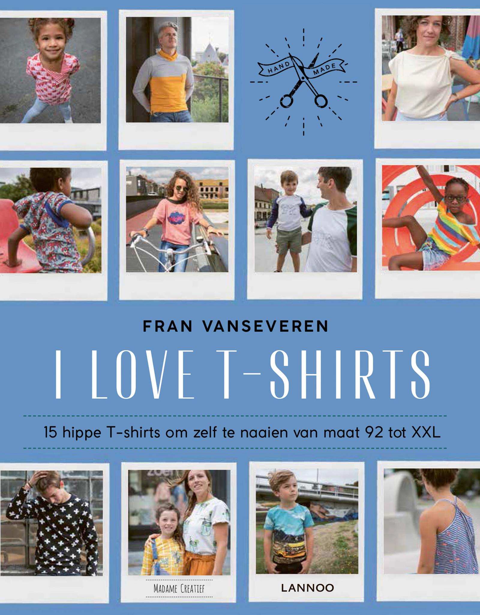 I Love T-shirts Boek