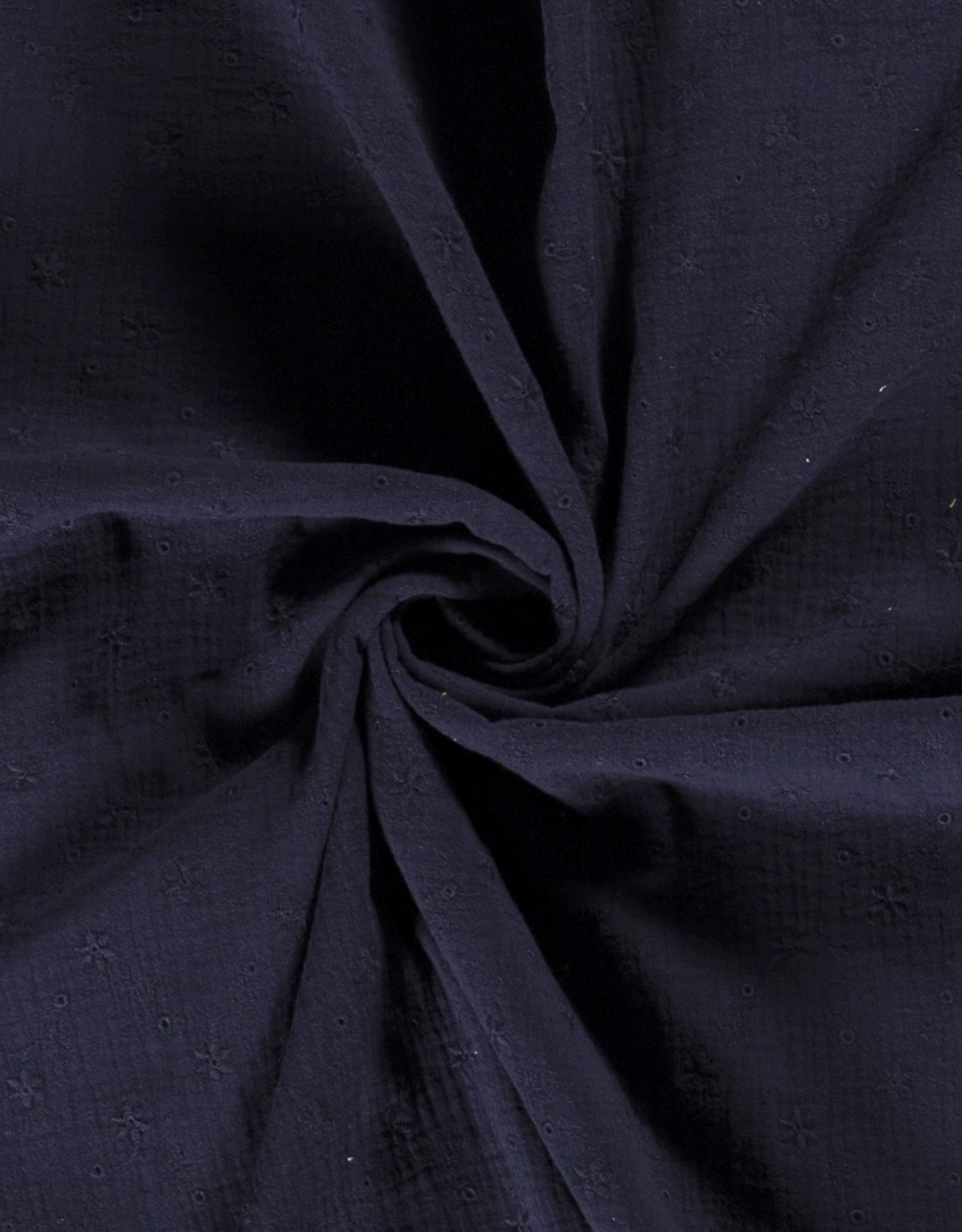 Tetra Broderie - Marineblauw